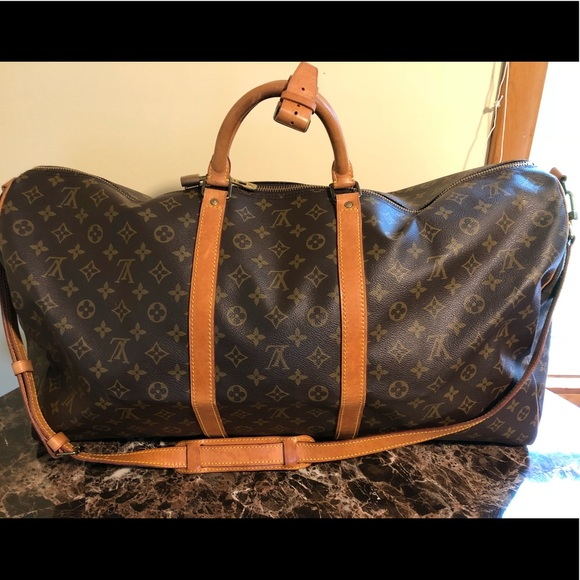 Louis Vuitton Handbags - Authentic Louis Vuitton Keepall 60 Bandouliere 7316bf3d48946